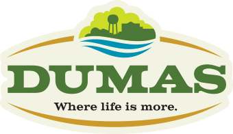 Dumas Arkansas color logo