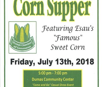 Dumas Chamber of Commerce 4th Annual Corn Supper