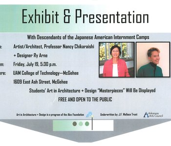 Exhibit & Presentation With Descendants of the Japanese American Internment Camps